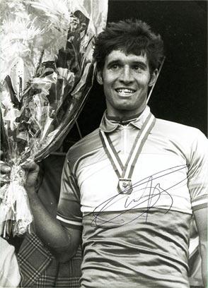 Marcel Tinazzi sur le podium