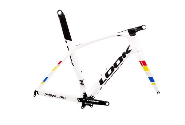 Cadres Look 785 et 795 light RS Proteam White glossy 2020 C1