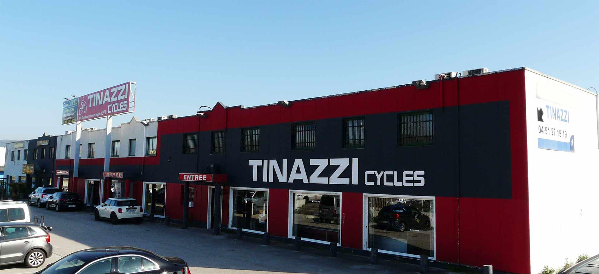 Tinazzi Cycles sur 1000 m2
