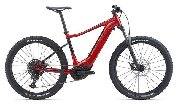 VTT électrique Giant Fathom E+1 Pro : VTT semi rigide Confortable dédié à la randonnée sportive