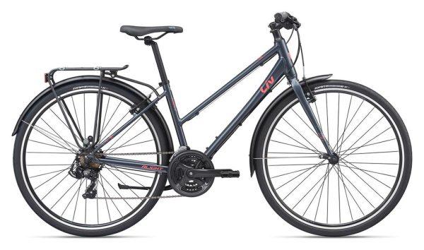 Vélo ville Giant Alight 3 City : Confortable et dynamique en ville pour femme