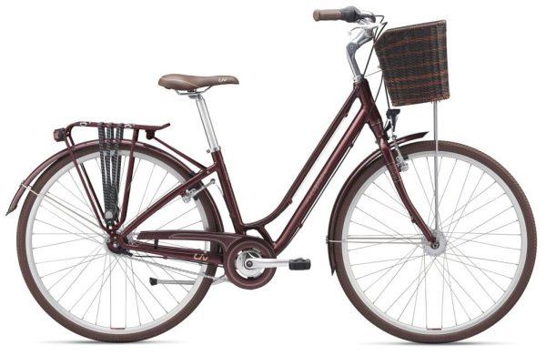 Vélo ville Giant Flourish 1 : tout confort urbain