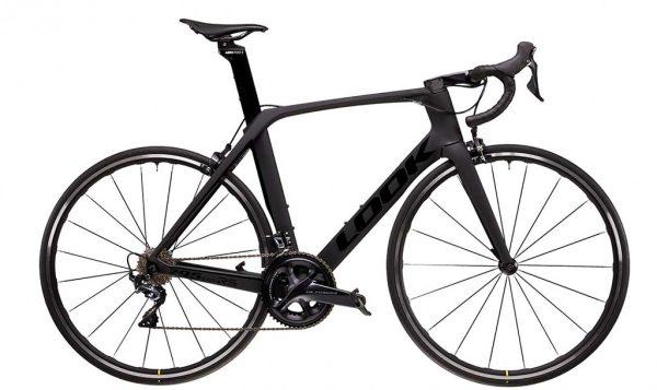 Vélo Look 795 blade RS Ultegra full black glossy mat