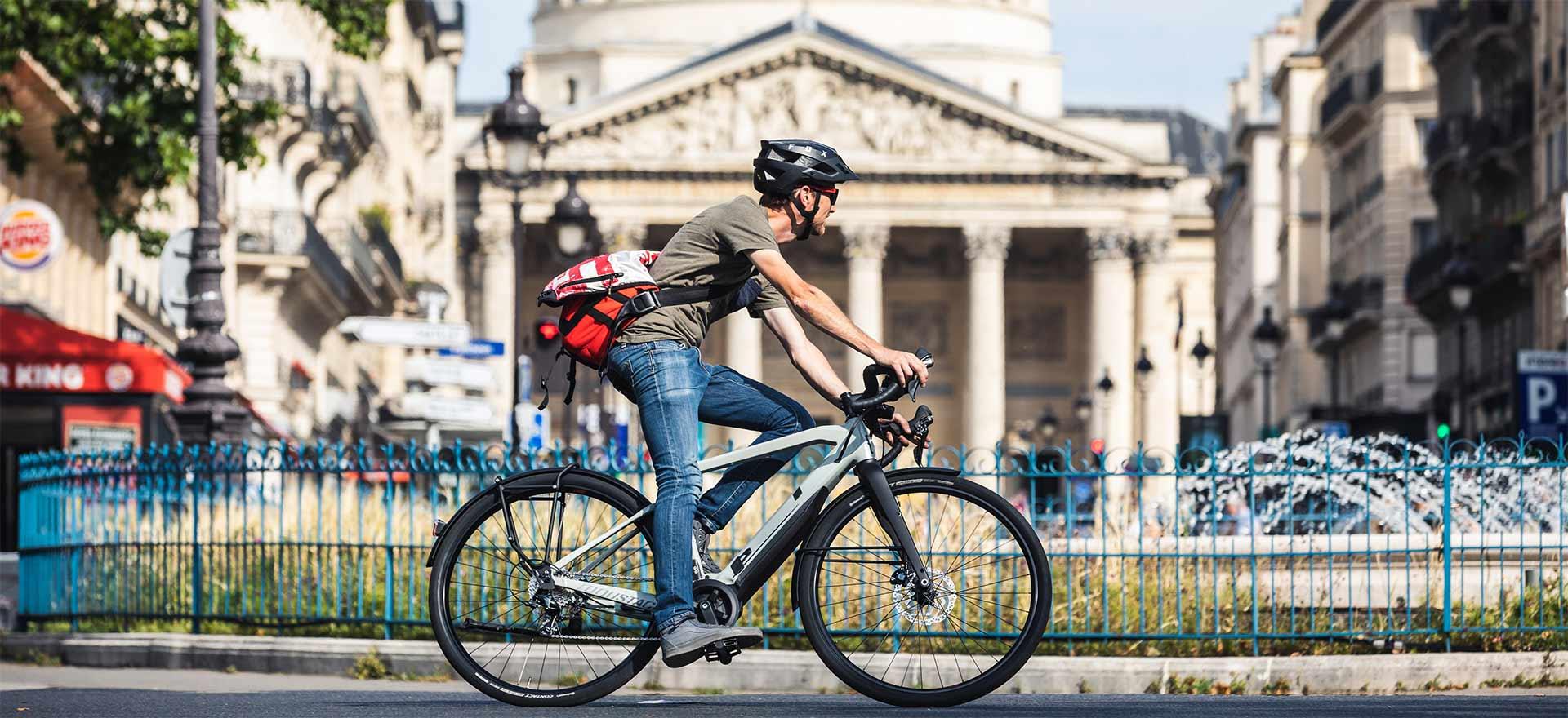 Vélo électrique de ville Moustache